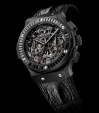 Classic Fusion Chronograph Aero Las Vegas Black Diamonds Black Ceramic