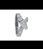Serpenti 26mm Pave White Gold