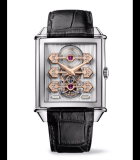Vintage 1945 Tourbillon with Three Gold Bridges 70th Anniversary White Gold