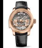 Tourbillon Minute Repeater with Gold Bridges Pink Gold