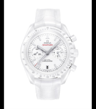 Speedmaster Co-Axial Chronograph White Side of the Moon White Ceramic