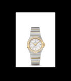 Constellation Pluma 27mm Diamonds Steel and Yellow Gold