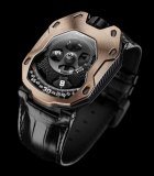 UR-105 TA Black PVD Titanium and Red Gold