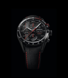 Carrera Calibre 16 Day Date Chronograph 43mm Nissan NISMO Black Titanium Carbide-Coated Titanium