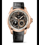 Traveller Moon Phase and Large Date and GMT Pink Gold