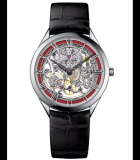 Mecaniques Ajourees - Red Enamel Only Watch 2015 White Gold