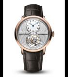 Ultra-Thin Tourbillon Escapement Guilloche Red Gold