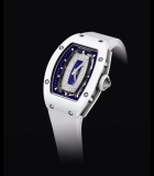 RM 007-01 Polo Club Saint Tropez White Ceramic and White Gold