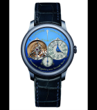 Tourbillon Souverain a Seconde Morte Blue Only Watch 2015 Tantalum
