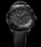 Carrera Calibre 16 Chronograph 44mm Black Phantom Black Titanium Carbide-Coated Steel