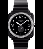 BR-S Diamonds Black Ceramic