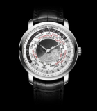 Patrimony Traditionnelle World Time White Gold
