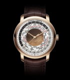Patrimony Traditionnelle World Time Pink Gold