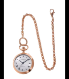Manufacture Pocket Watch Rose Gold PVD Steel