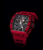 RM 011 Flyback Chronograph Red TPT Quartz and NTPT Carbon