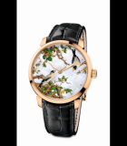 Classico Birds and Flowers - Cherries Rose Gold