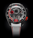 H4 Alinghi 3DTP Carbon and Black DLC Titanium
