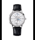 Saxonia Dual Time White Gold