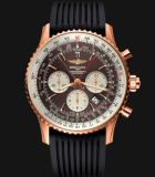 Navitimer Rattrapante Red Gold