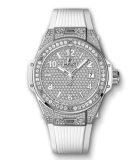 Big Bang One Click Steel White Full Pave