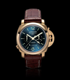 Luminor 1950 Chrono Monopulsante 8 Days GMT Pink Gold