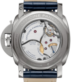 LUMINOR 1950 8 DAYS EQUATION OF TIME GMT TITANIO