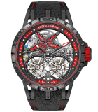 Excalibur Spider Pirelli Flying Double Tourbillon