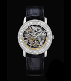 Patrimony Traditionnelle Openworked Diamond-set Self-winding