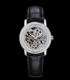 Patrimony Traditionnelle Openworked Small Model Diamond-set
