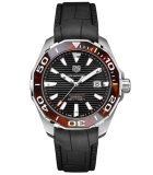 Aquaracer 43mm Tortoise Shell Effect Calibre 5 Automatic Brown