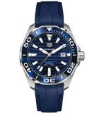 Aquaracer 43mm Tortoise Shell Effect Calibre 5 Automatic Blue